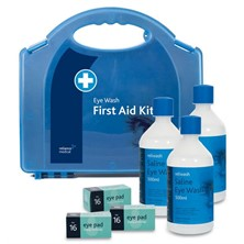 Triple Eye Wash First Aid Kit